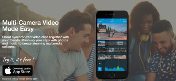 GroupClip lets you collaborate with friends on putting together multi-camera videos quickly and easily
