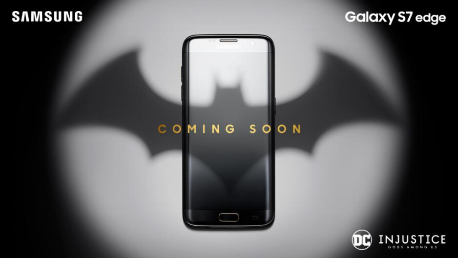 A new device for the battle against the Gods Among Us. From Samsung. - Limited edition Samsung Galaxy S7 edge coming soon, teaser suggests