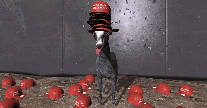 Goat Simulator - Waste Of Space is out and it looks like