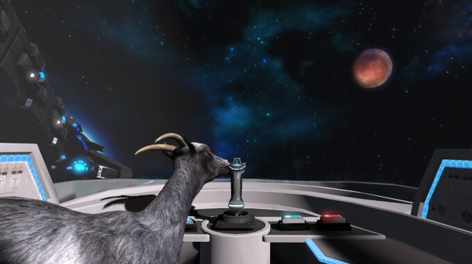 Goat Simulator - Waste Of Space is out and it looks like solid