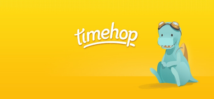 Timehop arranges your old posts and photos on social media into delightful stories