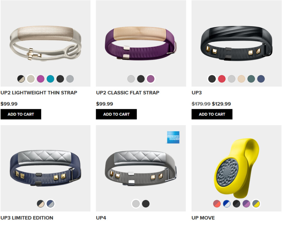 Jawbone has allegedly stopped producing its fitness trackers and has sold its inventory to a third-party retailer - Jawbone stops production of its UP2, UP3 and UP4 fitness trackers?