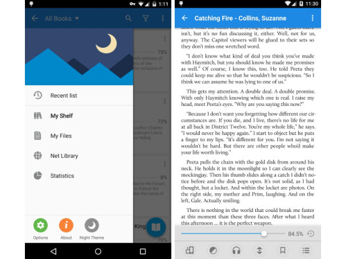 Moon+ Reader (Android only)