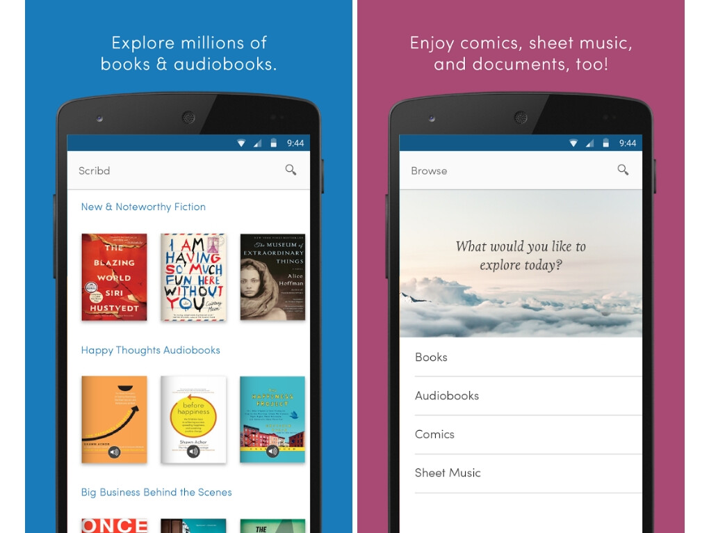 Image result for Scribd ios and android