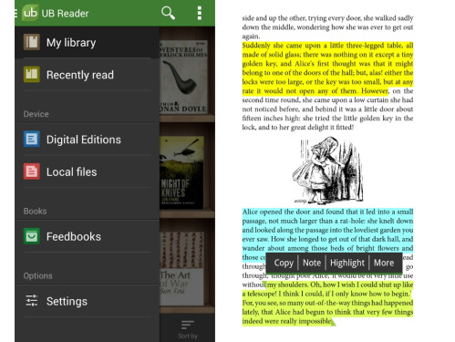 Universal Book Reader (Android only)