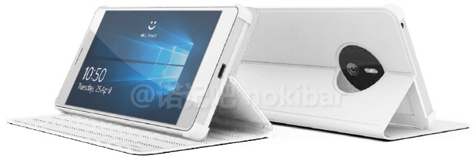 Leaked Surface Phone alleged image shows a conservative look and touch-type cover