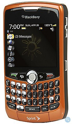 Sprint now offering Inferno BlackBerry Curve 8330