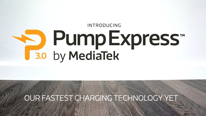 MediaTek unveils Pump Express 3.0: a Qualcomm QuickCharge alternative that will get 0% to 70% battery in 20 minutes