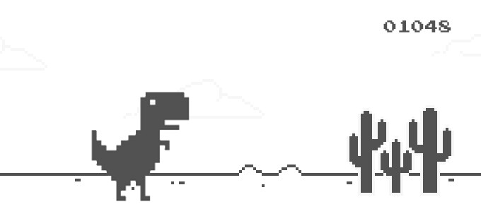 Let Steve, the dinosaur, jump all over your apps and notifications in your new favorite widget-game