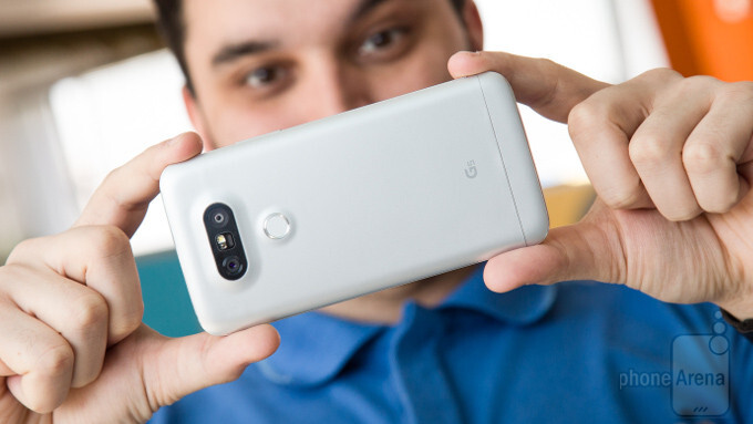 LG G5 - Phones with quick charge: the fastest charging from 0 to 100% (2016 edition)