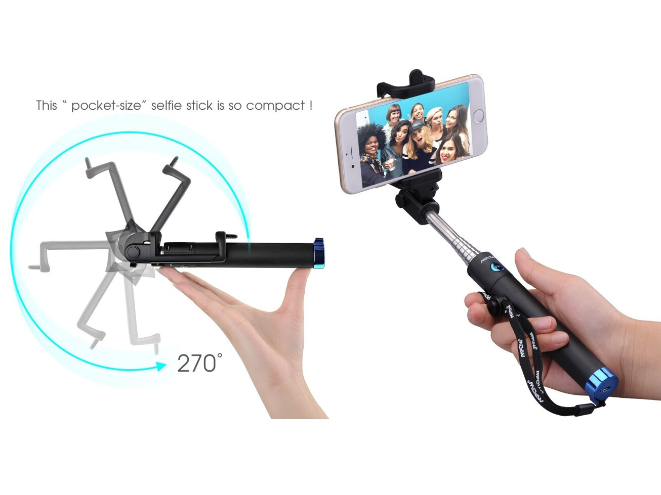 best selfie sticks for iphone and android. Black Bedroom Furniture Sets. Home Design Ideas