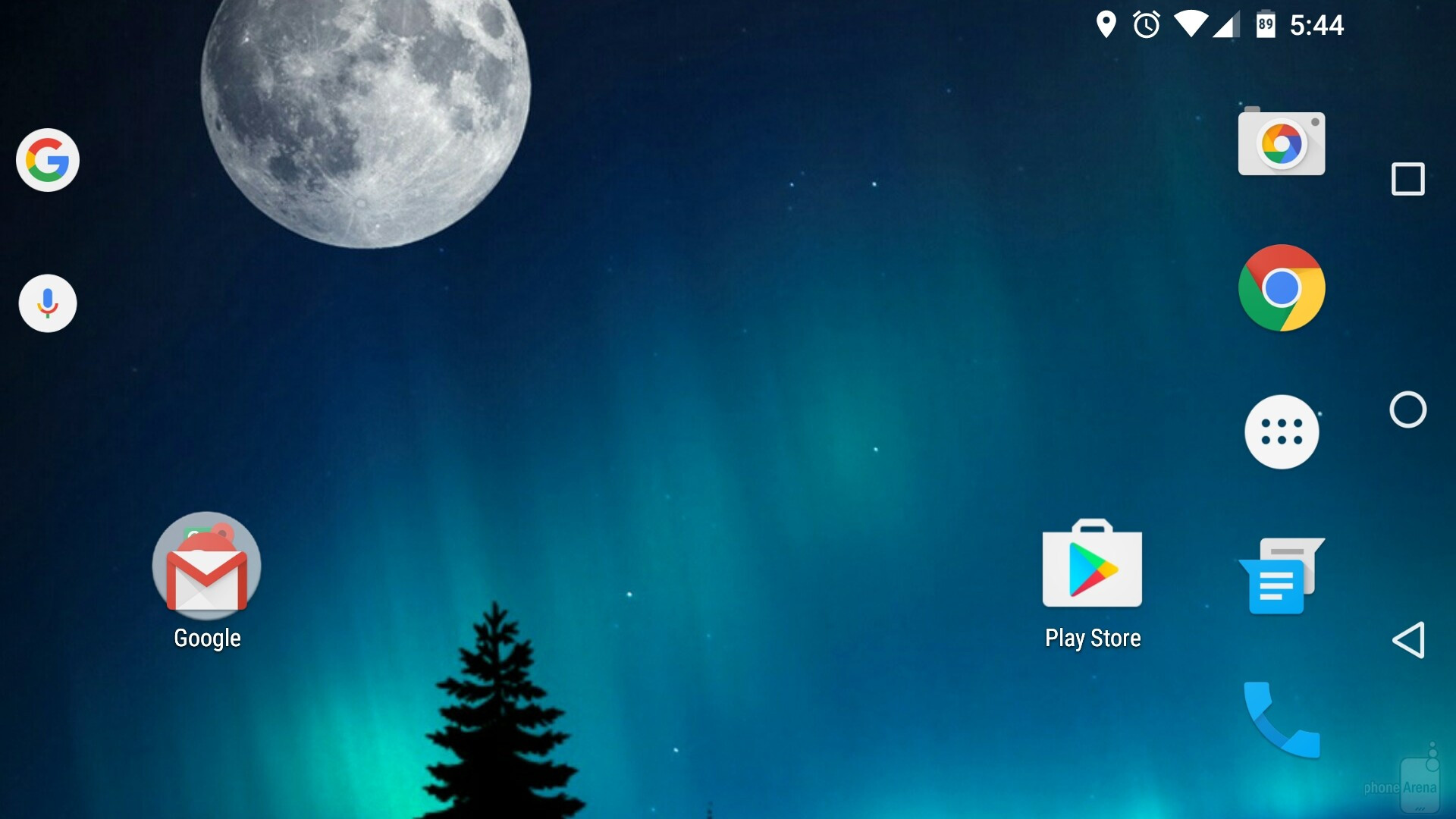home screen will look something like this whenever you rotate the phone to the left or right image from how to enable landscape mode on your android