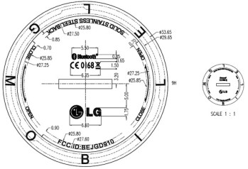 LG's GD910 watch phone gets through the FCC