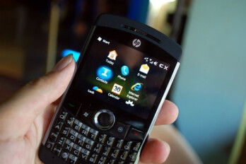 The HP iPAQ K3 Obsidian is said to sport an AMOLED touchscreen