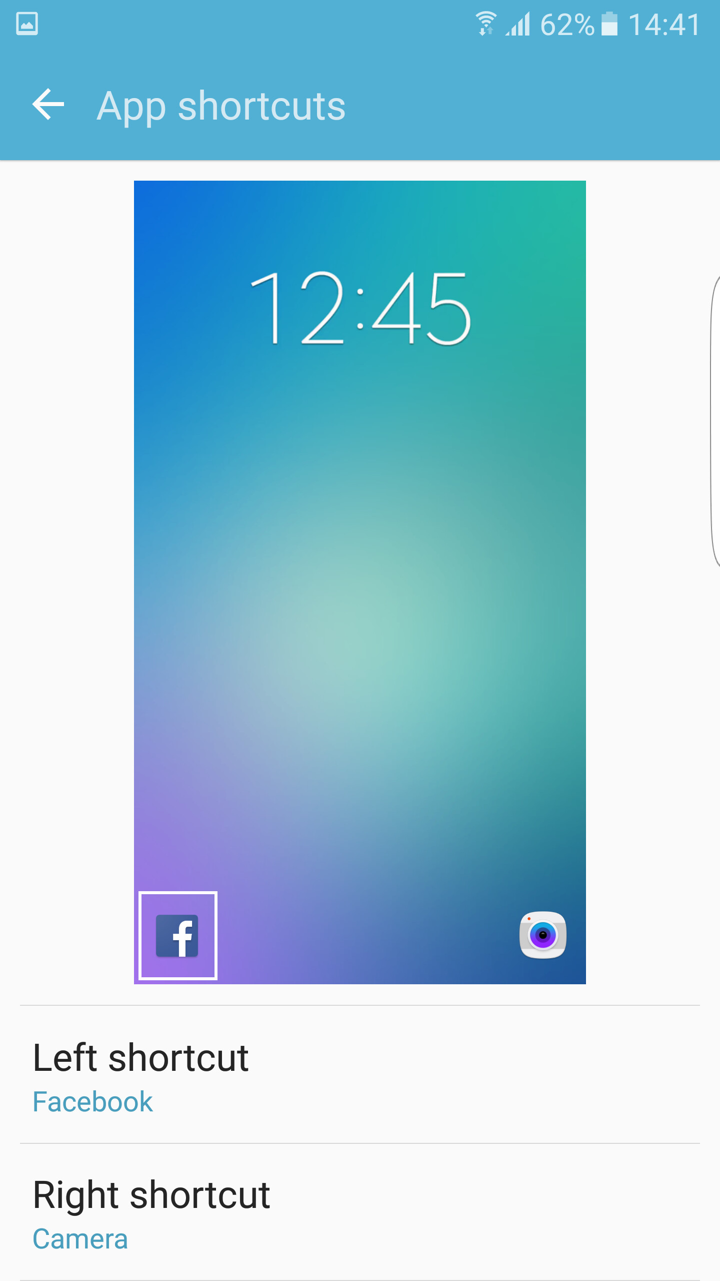 how to change lock screen app shortcuts on samsung 39 s galaxy s7 and s7 edge android touchwiz. Black Bedroom Furniture Sets. Home Design Ideas