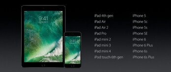 UPDATED: Apple iOS 10 final list of compatible devices