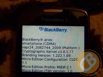Leaked spec sheet reveals Wi-Fi and more on Verizon's BlackBerry Curve 8530