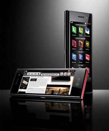 """LG's """"New Chocolate"""" poses for its first official snapshots"""