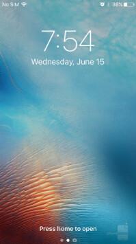 The iOS 10 lock screen drops Slide to Unlock