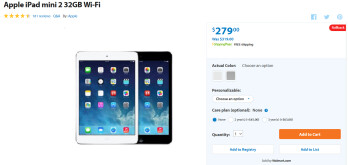 Walmart rolls back prices on Apple iPhone 5s and Apple iPad