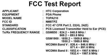 "AT&T's Touch Diamond2 ""Warhawk"" visits the FCC?"