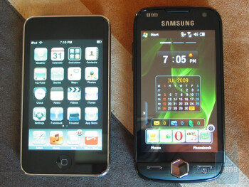 Omnia II and iPod Touch