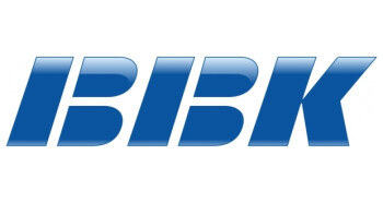 BBK's oldschool-looking logo.