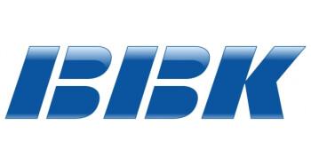 BBK's oldschool-looking logo.