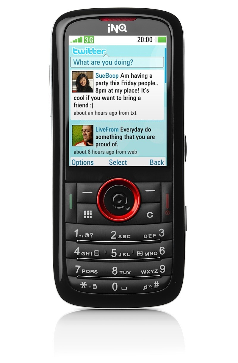 INQ Chat и Mini 3G - INQ attacks with two brand new handsets – Chat and Mini 3G