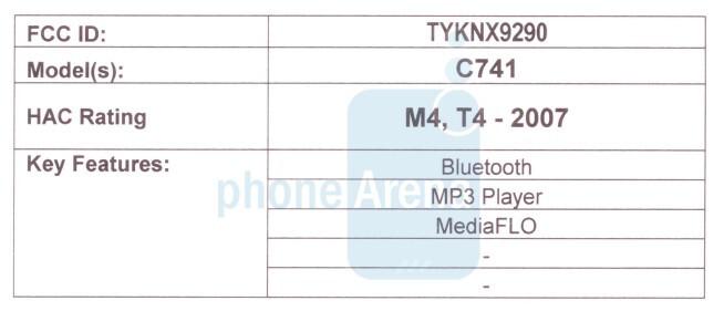 Casio Brigade C741 just passed the FCC, next stop Verizon?
