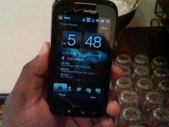 New spy shots of HTC Touch Pro2 wearing Verizon brand