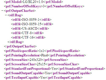 LG BL20 – the new Chocolate gets revealed in an XML file