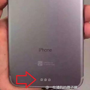 Purported Smart Connector port on iPhone 7 Plus/Pro
