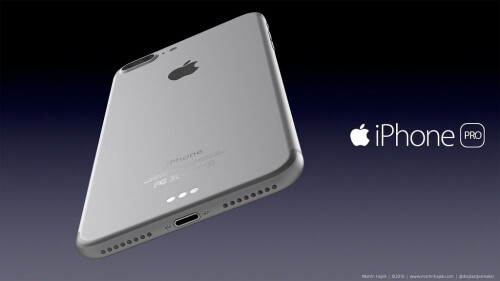 Apple iPhone 7 Pro renders by Martin Hajek