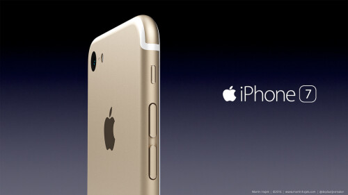 Apple iPhone 7 CAD drawings, fan-made renders and concepts