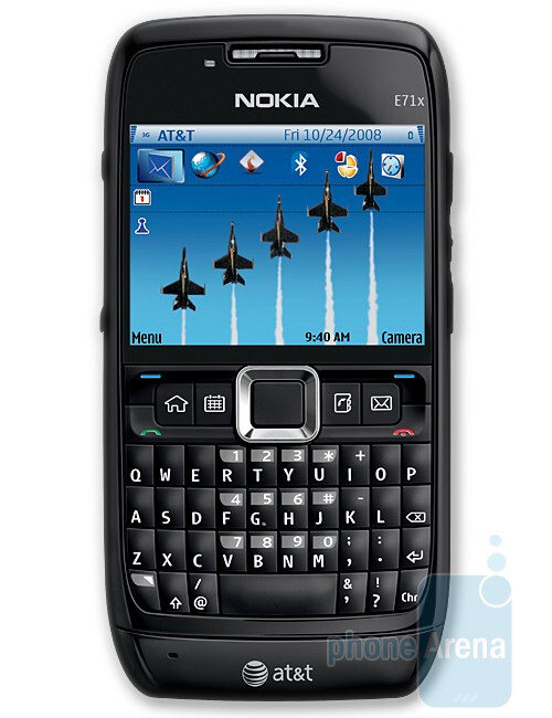 Nokia E71x - Back To School Phone Guide 2009