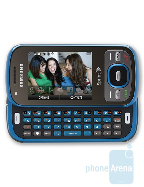 Samsung Exclaim M550 - Back To School Phone Guide 2009