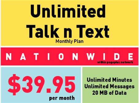 Page Plus Cellular offers $39.95 unlimited plan