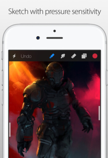 For a limited time, drawing app Procreate Pocket is free to iPhone