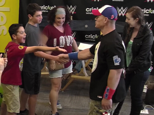 The Unexpected John Cena Prank