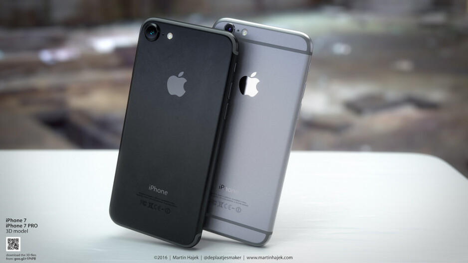 Back to black: sizzling new renders show us a spellbindingly beautiful iPhone 7 in Space Black