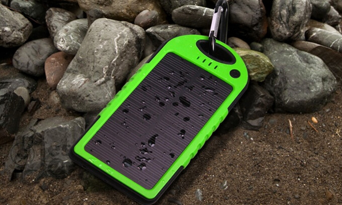 Deal alert! Get this nifty 5,000mAh solar powerbank for just $17.99, down from $59.99