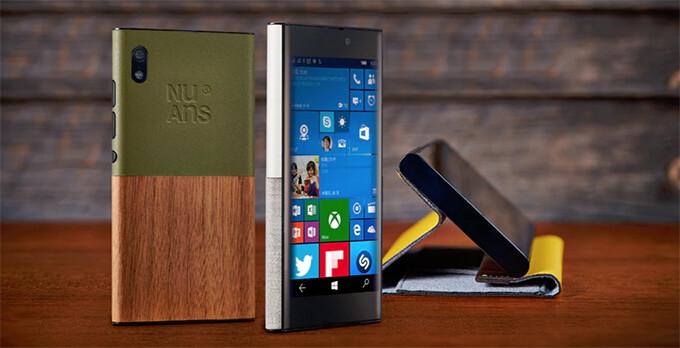 Quirky Windows 10 smartphone NuAns Neo ready to leave Japan via Kickstarter
