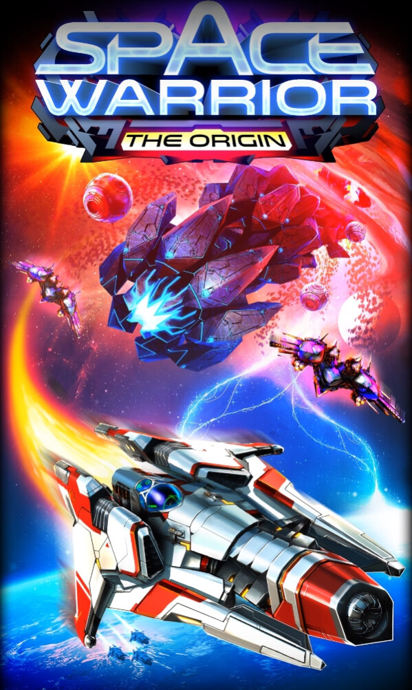Space Warrior: The Origin brings back the glorious spirit of 90s space arcade shooters