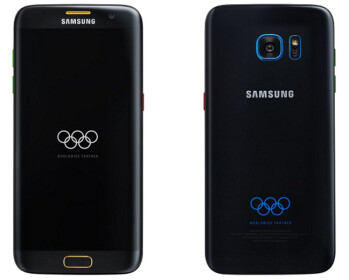 Press renders of the Samsung Galaxy S7 edge Olympic Edition were leaked last month