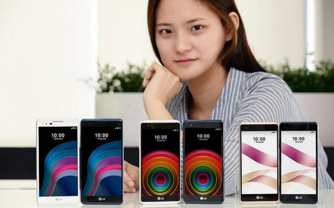 Entry-level LG X5 and LG X skin now official in South Korea: humble specs, generic design