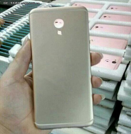 Alleged back shell of the Meizu MX6 looks a lot like the Pro 6. Rose gold units spotted in the back - Even Meizu doesn't know what to do with the MX6, leaked internal emails reveal