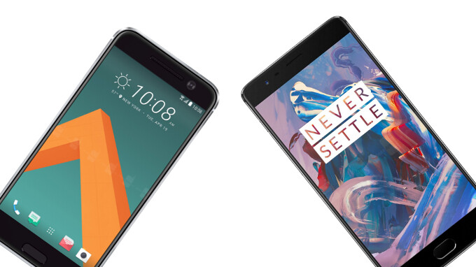 Poll: HTC 10 vs OnePlus 3 – metal-clad, snappy Android phones with no gimmicks about them – which do you prefer?