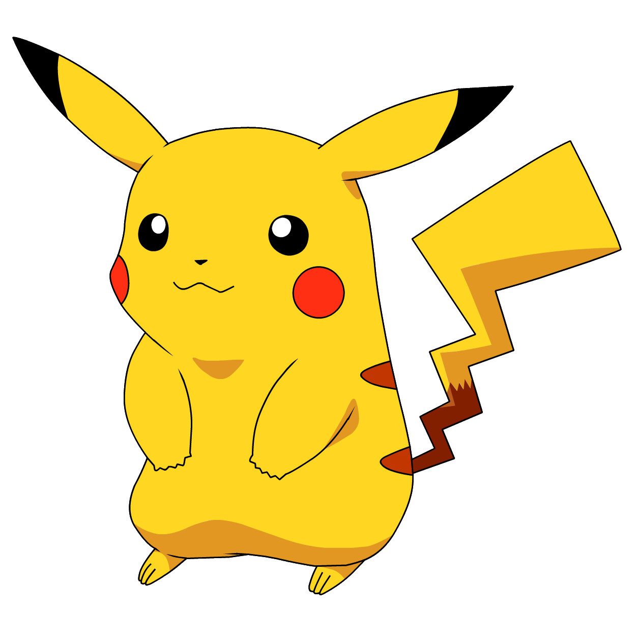 Pikachu  the instantly recognizable Pokemon mascot  image from
