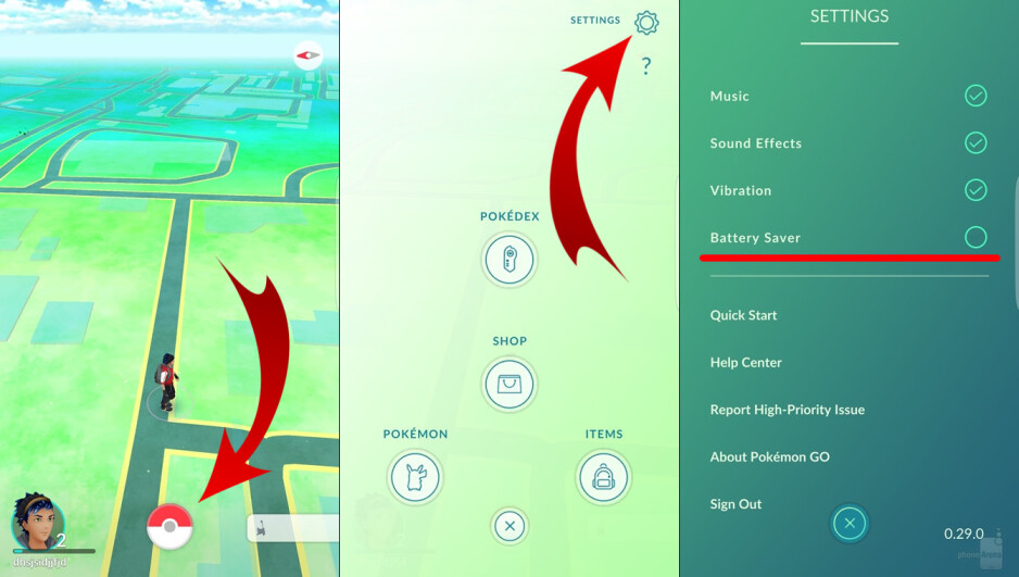 Pokémon Go - how to enable the battery saver on Android and iOS - Here are some tips to improve your battery life while playing Pokémon Go (Android / iOS guide)